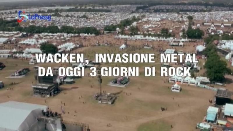 WACKEN, INVASIONE METAL: DA OGGI 3 GIORNI ROCK