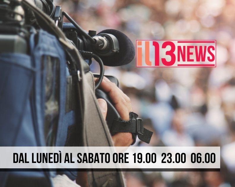 IL 13 NEWS LOCANDINA PROGRAMMI 792X630