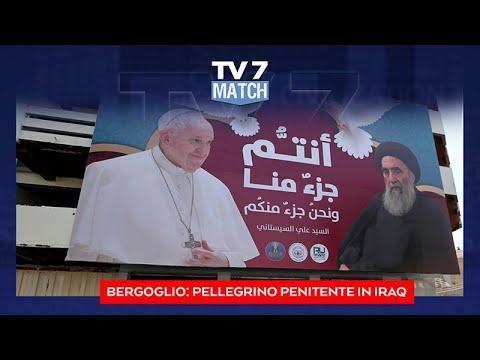 IL VIAGGIO DI PAPA FRANCESCO IN IRAK DEL 19/03/21