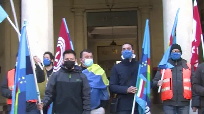 PROTESTA LAVORATORI AMAZON IN TUTTA ITALIA