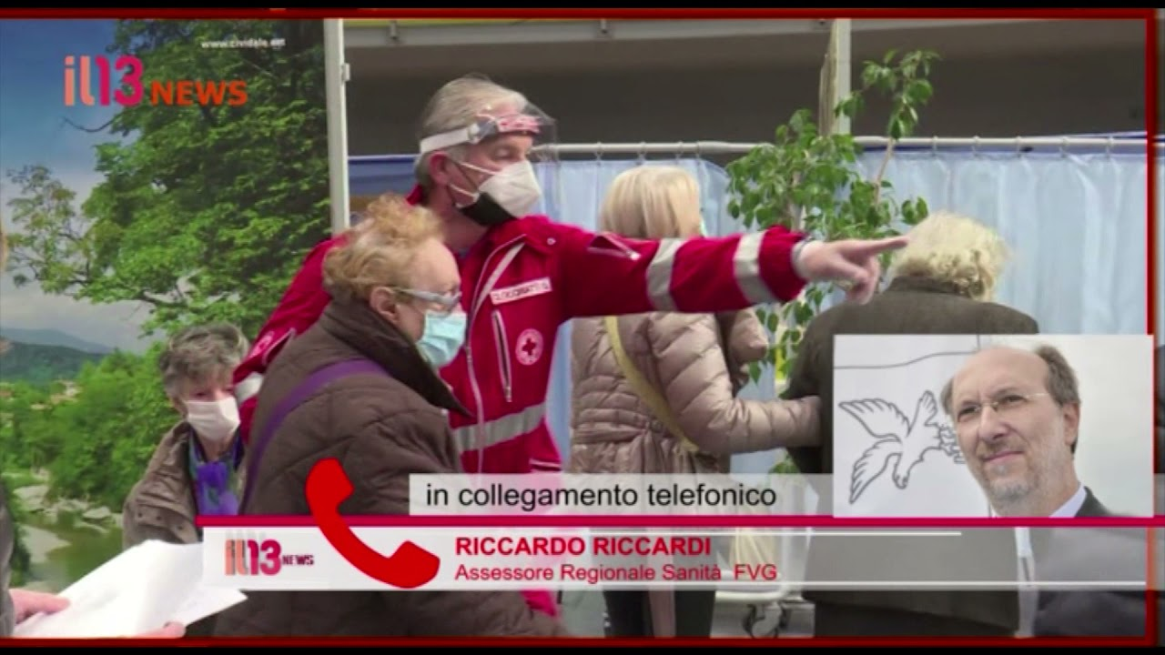 IL 13 NEWS 12/04/21 FRIULI VENEZIA GIULIA