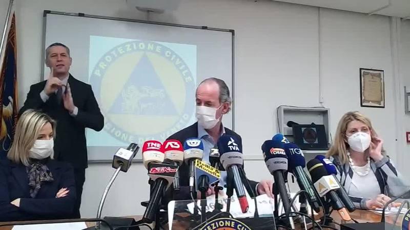 POSSIBILE ZONA ARANCIONE PER IL VENETO DA MARTEDI'