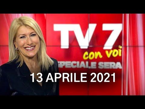 TV7 CON VOI SERA DEL 13/04/21