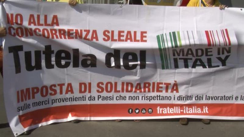 Fratelli d'Italia in difesa del Made in Italy