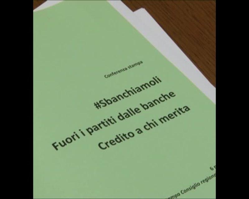 #SBANCHIAMOLI – FUORI I PARTITI DALLE BANCHE