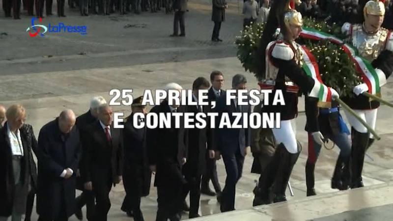 25 APRILE, FESTA E CONTESTAZIONI