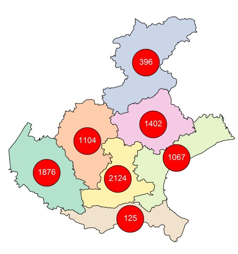 437 POSITIVI NEL COMUNE DI PADOVA