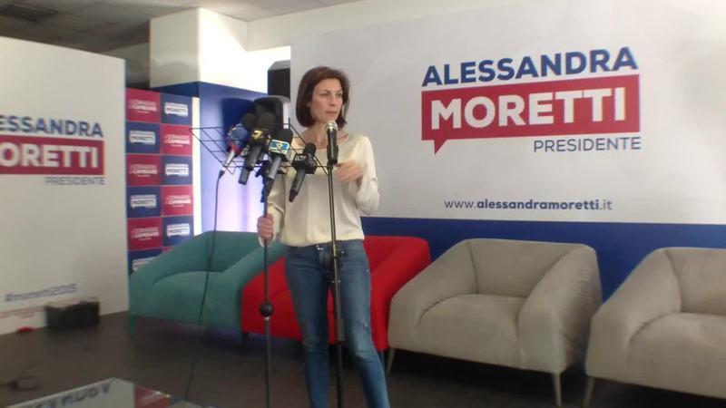ALESSANDRA MORETTI, UNA SCONFITTA PESANTE