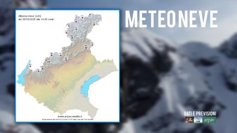 ARPAV- METEO NEVE