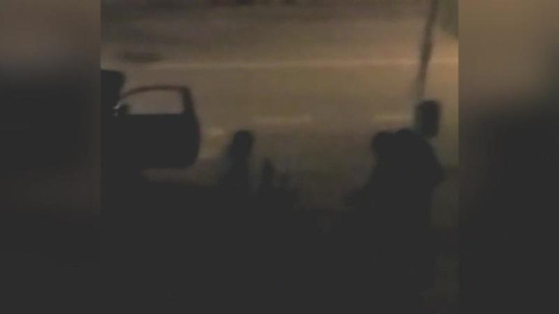 BANDA DEI POSTAMAT: ABARTH TROVATA DISTRUTTA