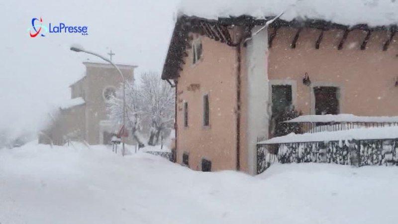 CENTRO ITALIA IN GINOCCHIO, CATASTROFE A RIGOPIANO