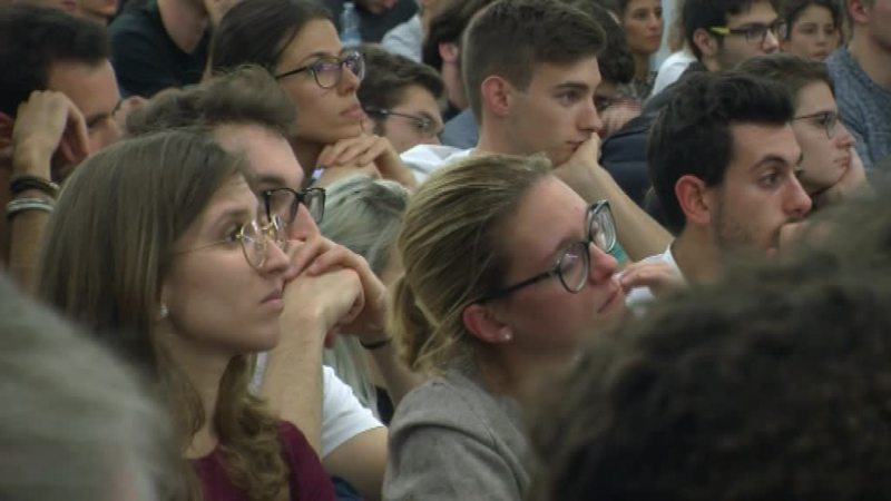 GLI STUDENTI A CONFRONTO CON ELSA FORNERO