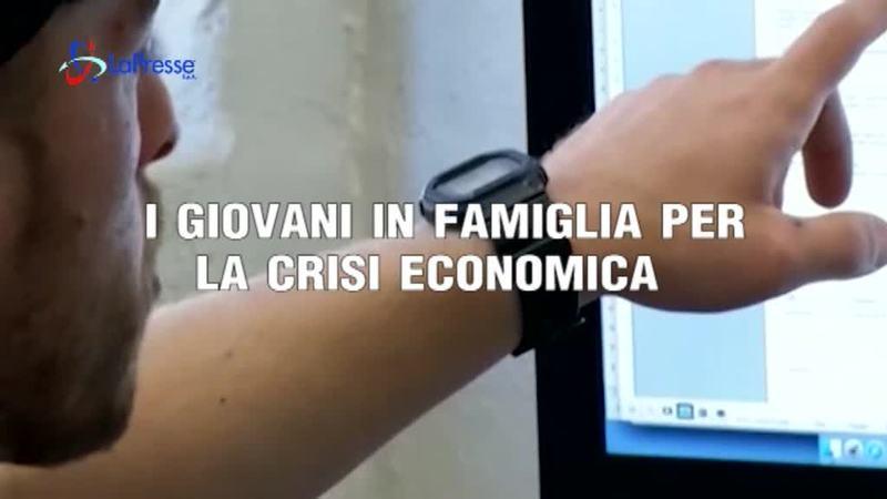 I GIOVANI IN FAMIGLIA PER LA CRISI ECONOMICA