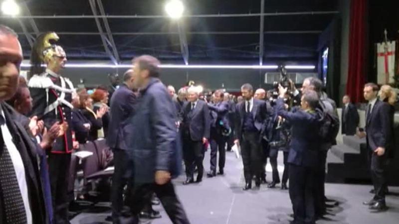 IL PRESIDENTE MATTARELLA A PADOVA LODA IL CUAMM