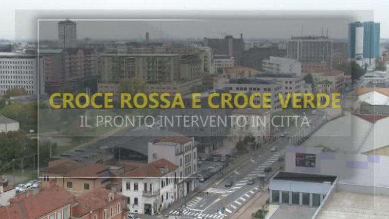 IL PRONTO INTERVENTO DI CROCE ROSSA E CROCE VERDE