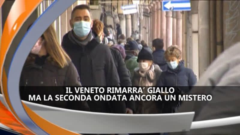 IL VENETO RIMARRA' GIALLO – iReporter TG 04/02/21
