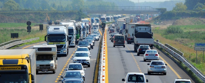 INCIDENTE IN A4 FRA SAN GIORGIO E IL BIVIO A4/A23