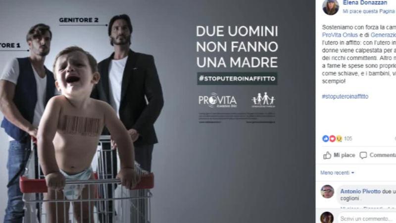 """INSULTI E MINACCE CONTRO ELENA DONAZZAN """"DENUNCERÒ"""""""