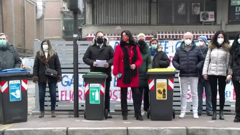 L'ARCELLA EST NON VUOLE IL PORTA A PORTA