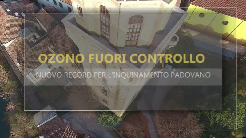 OZONO FUORI CONTROLLO, INQUINAMENTO RECORD A PADOVA