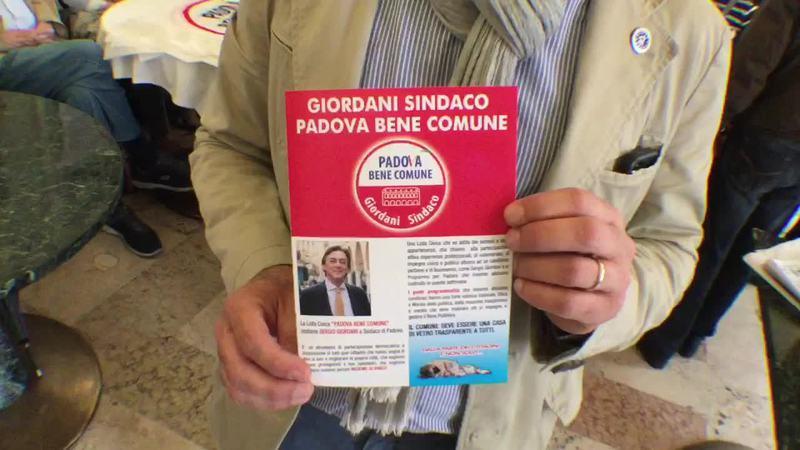 PADOVA BENE COMUNE PER SERGIO GIORDANI