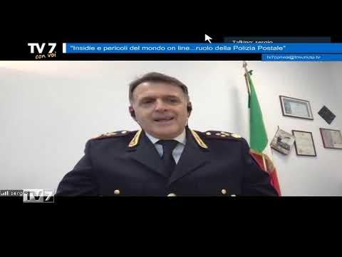 RUOLO DELLA POLIZIA POSTALE – TV7 CON VOI 9/2/2021