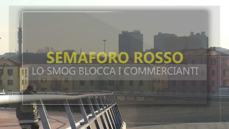 SEMAFORO ROSSO, LO SMOG BLOCCA I COMMERCIANTI