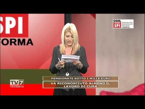 SPI CGIL INFORMA: PENSIONATE SOTTO I MILLE EURO