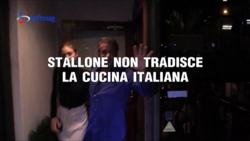 STALLONE NON TRADISCE LA CUCINA ITALIANA