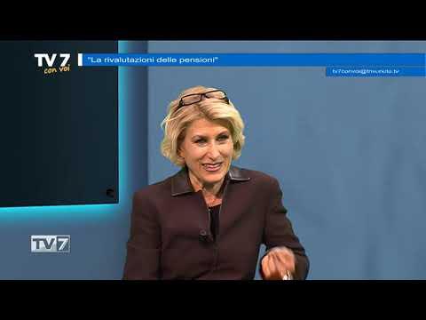 TV7 CON VOI DEL 14/12/2018 – RIVALUTAZIONE PENSIONI