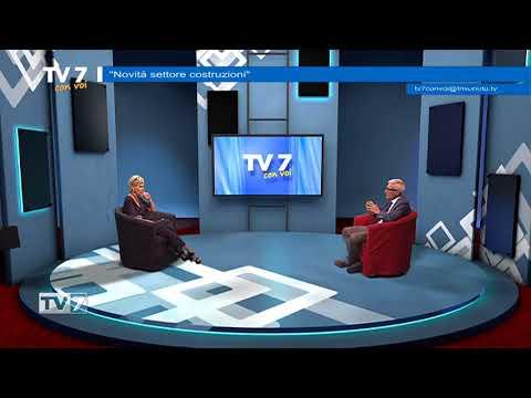 TV7 CON VOI DEL 14/6/18  NOVITà SETTORE COSTRUZIONI