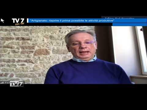 TV7 CON VOI DEL 16/4/2020 – ARTIGIANATO