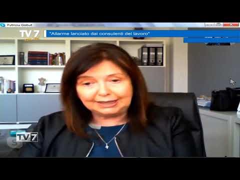 TV7 CON VOI DEL 17/4/2020 – CONSULENTI DEL LAVORO