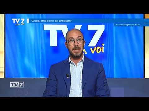 TV7 CON VOI DEL 17/9/20 – RICHIESTE DEGLI ARTIGIANI