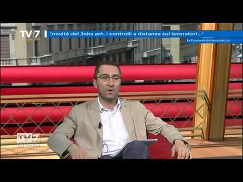 TV7 CON VOI DEL 19/06/2015 – NOVITà DEL JOBS ACT