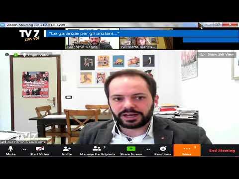TV7 CON VOI DEL 20/3/2020 – GARANZIE PER ANZIANI