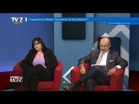 TV7 CON VOI DEL 23/10/2017 – LEGITTIMA DIFESA