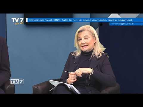TV7 CON VOI DEL 24/1/2020 – DETRAZIONI FISCALI 2020