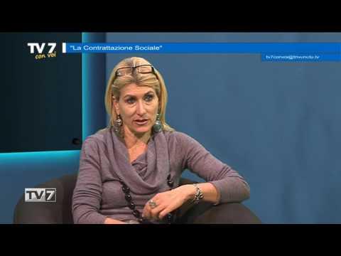 TV7 CON VOI DEL 24/2/2017 – LA CONTRATTAZIONE SOCIALE