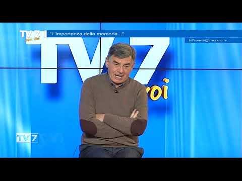 TV7 CON VOI DEL 29/1/21 L'IMPORTANZA DELLA MEMORIA
