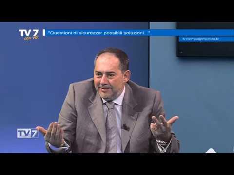 TV7 CON VOI DEL 7/10/2019 – QUESTIONI DI SICUREZZA