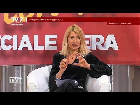 TV7 CON VOI SERA 10/3/20 – RISPETTIAMO LE REGOLE