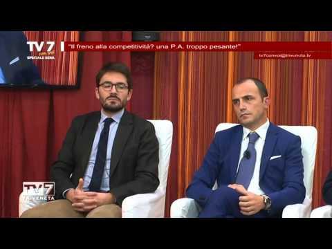 TV7 CON VOI SERA 17/11/2015 – IL FRENO ALLA COMPETITIVITà
