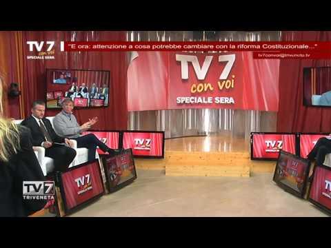 TV7 CON VOI SERA 19/04/2016 – RIFORMA COSTITUZIONALE