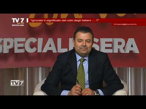 TV7 CON VOI SERA DEL 14/12/2016 –  IGNORATO VOTO ITALIANI