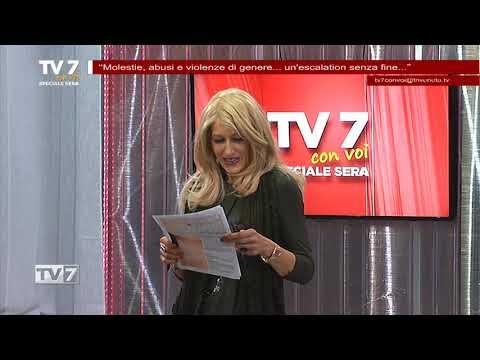 TV7 CON VOI SERA DEL 21/11/2017 – MOLESTIE, ABUSI E