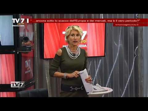 TV7 CON VOI SERA DEL 23/10/18 – SCACCO DELL'EUROPA