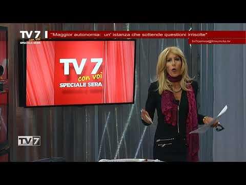 TV7 CON VOI SERA DEL 24/10/2017 – MAGGIOR AUTONOMIA
