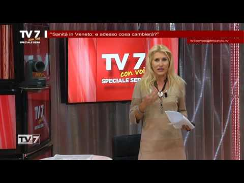 TV7 CON VOI SERA DEL 25/10/2016 –  SANITà IN VENETO
