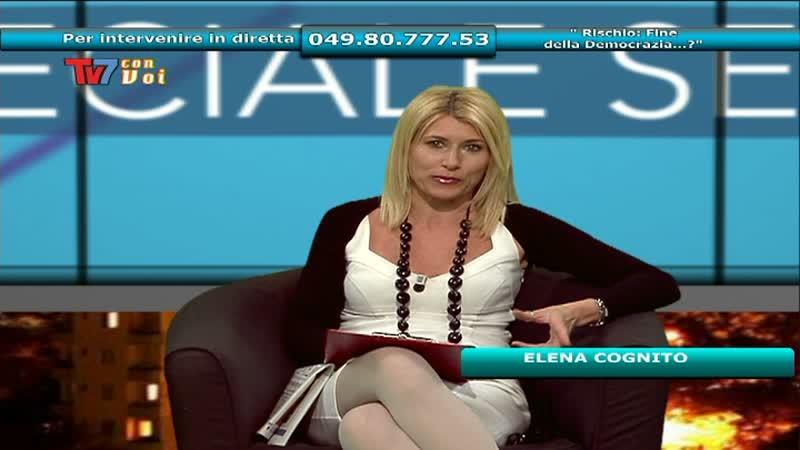 """TV7 CON VOI SERA: """"RISCHIO: FINE DELLA DEMOCRAZIA…?"""""""